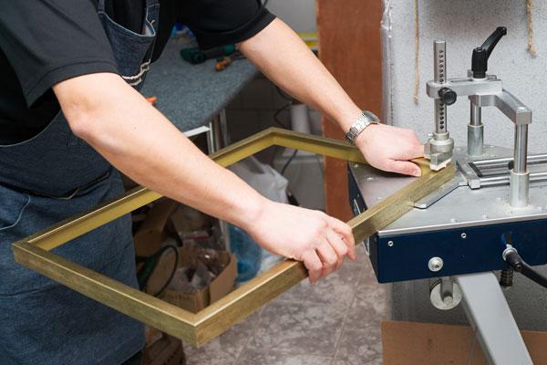 Manufacturing frame